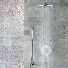 "Load image into Gallery viewer, Jado Contemporary Rain Can Showerhead 8"" Ultra Steel 860208.355 - Jenco Wholesale"