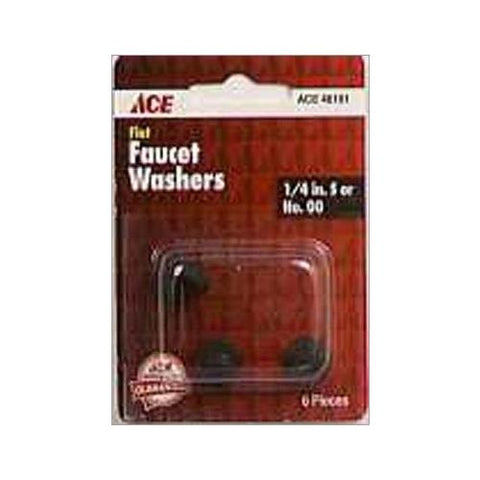 Ace Flat Faucet Washers (Pack of 6), 46101 - Jenco Wholesale