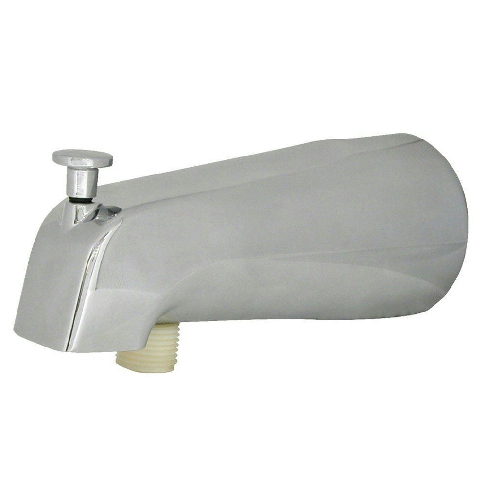 Danco Chrome Tub Spout w/Diverter & w/Personal Shower Connection #89266 - Jenco Wholesale
