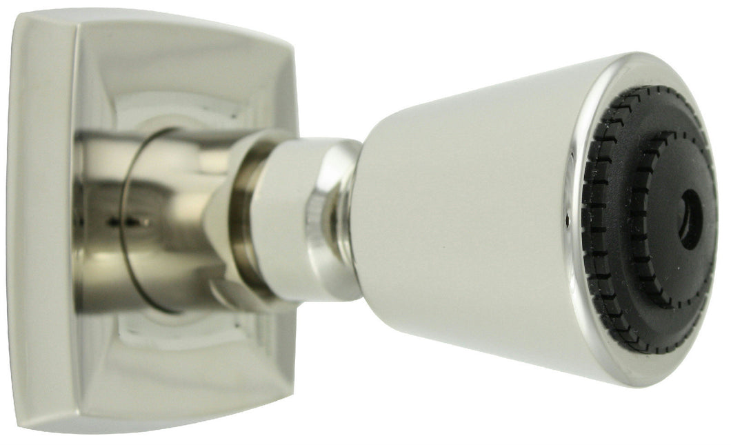 Jado Illume Platinum Nickel Adjustable Body Spray Showerhead #820007.150 - Jenco Wholesale