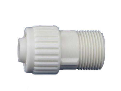 "Flair-It 16872 Plastic Male Adapter for Flex CPR, 0.75"" Size - Jenco Wholesale"