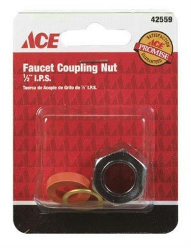"Ace Faucet Coupling Nut 1/2"" I.P.S., 42559 - Jenco Wholesale"