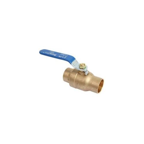 Durapro Ball Valve Full Port, 1-1/4 In. C X C - Jenco Wholesale