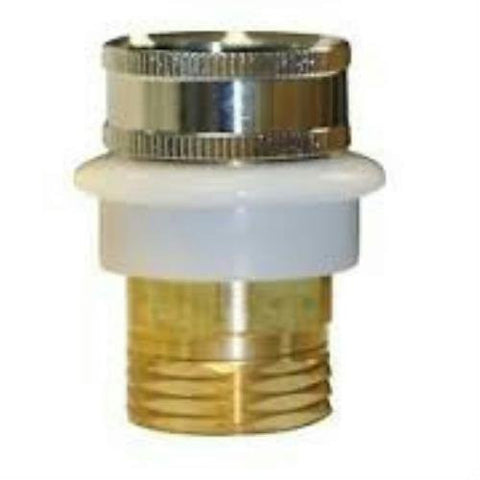 "Danco Snap Coupling, 3/4"" hose thread w/built in snap nipple 3/4"" female 36114B"