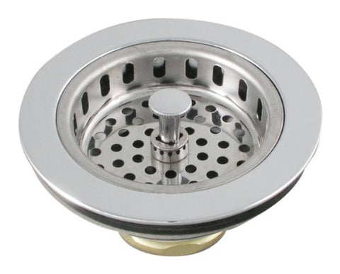 LDR 501 1250 Heavy Duty Duo Strainer, Chrome