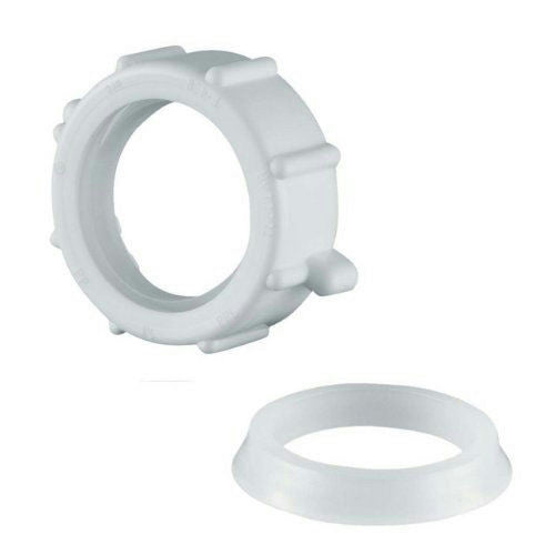 "PlumbCraft Slip Joint Nut & Washer for 1-1/4"" O.D. Tube 76-770"
