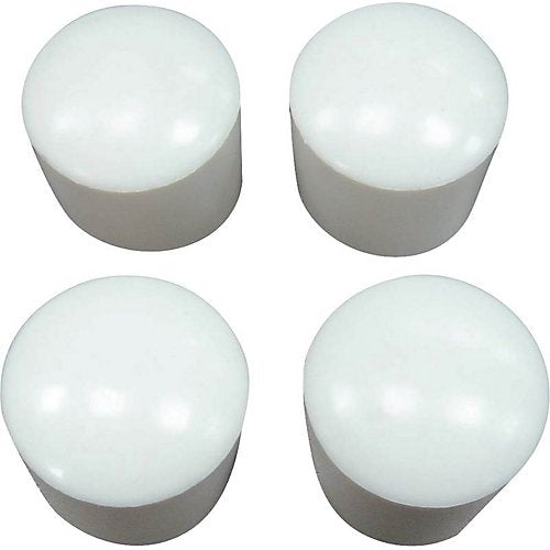 "Anvil Mark 5/8"" White Furniture Tips, 842253"