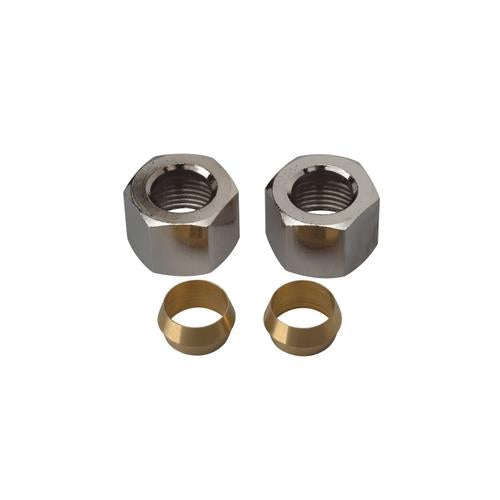 Ace Compression Nut With Rings (Set of 2), 40362 - Jenco Wholesale