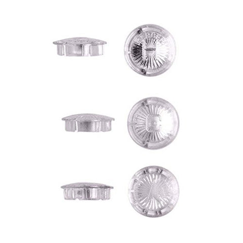 Danco Clear Acrylic Handle Buttons for Gerber, 3 pack , #80674 - Jenco Wholesale