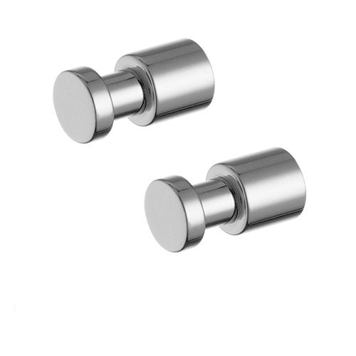 Jado Borma Polished Chrome Robe Hooks 014010.100 - Jenco Wholesale