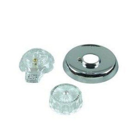 "Danco Chrome Mixet 4-1/2"" Flange Trim Kit  #28498"