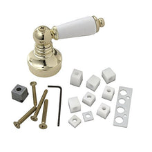 Load image into Gallery viewer, BrassCraft Universal Polished Brass/White Decorative Faucet Handle, SH5750 - Jenco Wholesale