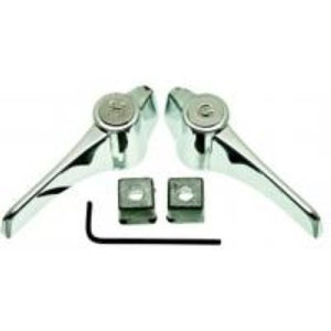 Danco Chrome Universal Metal Lever Handles Pair #80833 - Jenco Wholesale