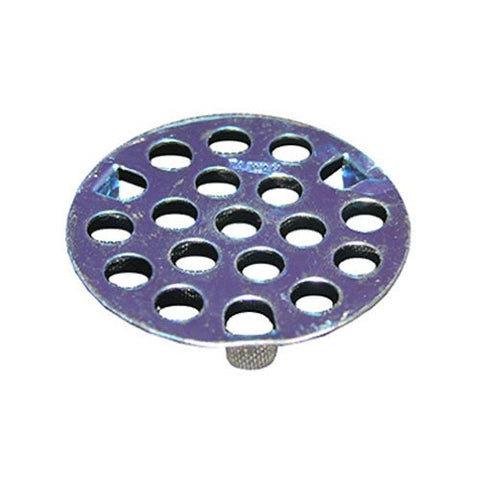 LASCO 03-1331 1-5/8-Inch Chrome Plated Flat Three Prong Strainer - Jenco Wholesale