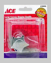 Load image into Gallery viewer, Ace Large Universal Chrome Canopy Diverter Handle 4199956 - Jenco Wholesale