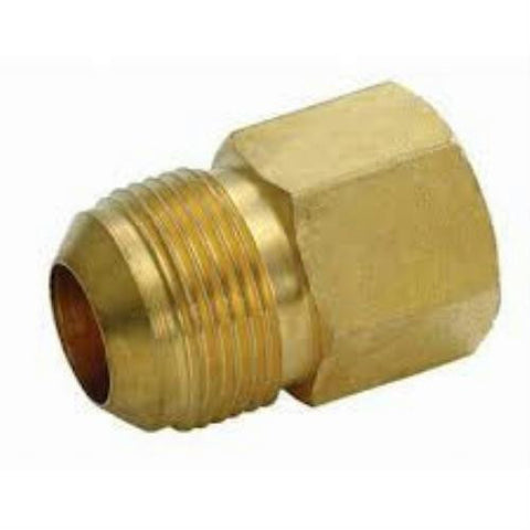"Dormont Gas 5/8"" O.D. x 3/4"" Flare Fitting, 90-3042C"