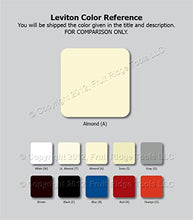 Load image into Gallery viewer, Leviton 201-T5325-A Tamper-Resistant Decorative Grounded Outlet - Jenco Wholesale