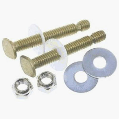 "Do it E-Z Snap Off Toilet Bolts, 5/16"" x 2-1/4"", Brass, #405477 - Jenco Wholesale"