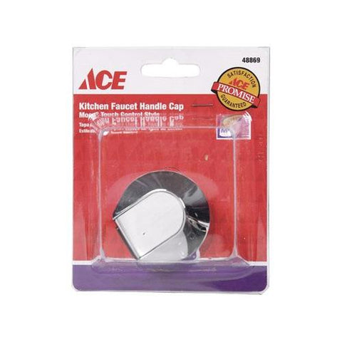 Ace Kitchen Faucet Handle Cap Moen Touch Control Style (Chrome), 48869 - Jenco Wholesale