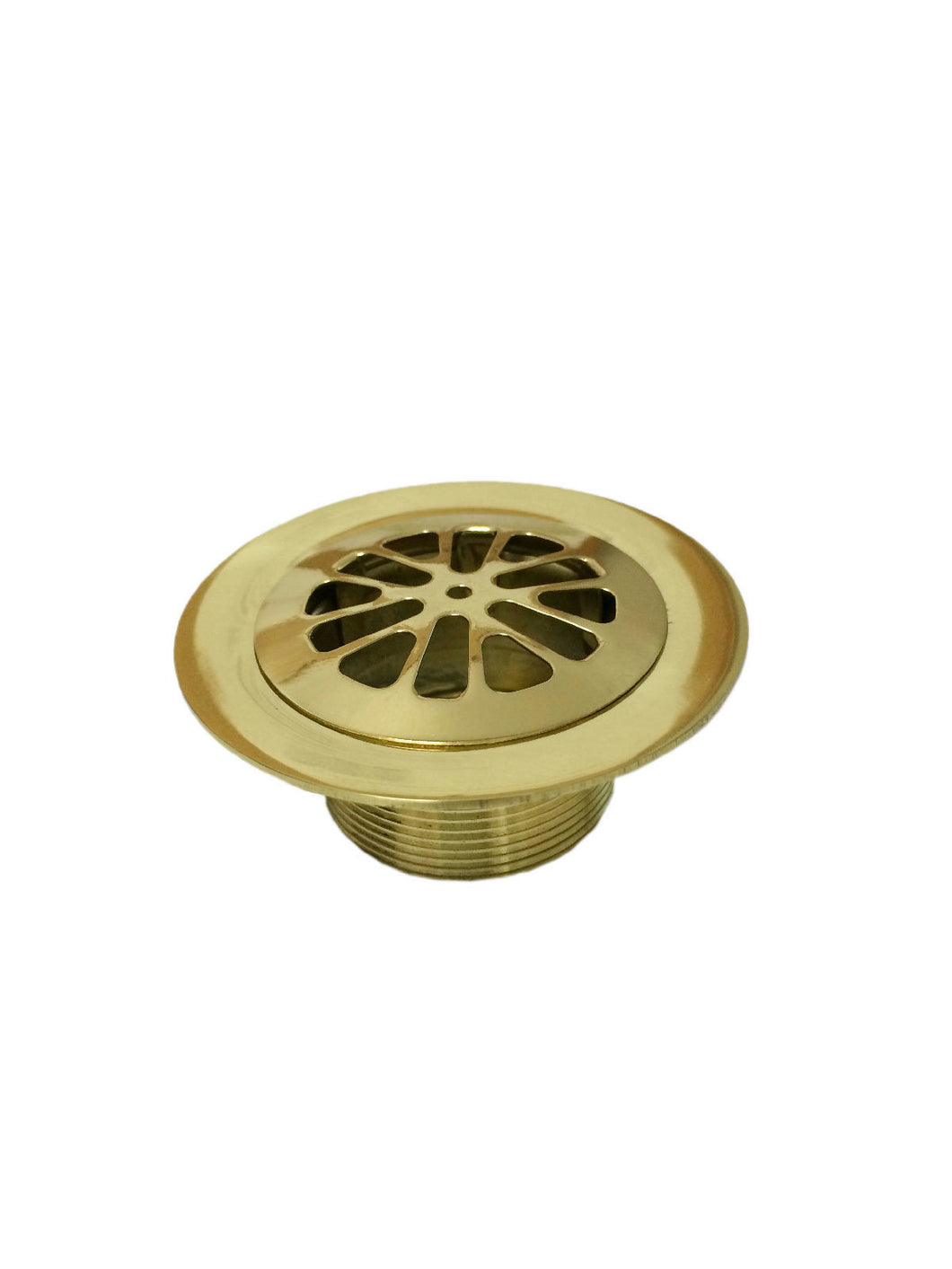 Lee Meyers Price Pfister Bath Drain w/ Strainer, Polished Brass, BPP972-721P - Jenco Wholesale