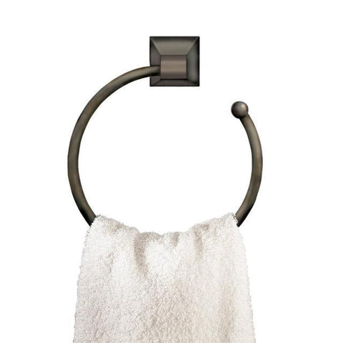 American Standard Town Square Blackened Bronze Towel Ring 2555.021.068