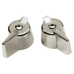 Master Plumber 5909C Lav/Sink Chrome Faucet Handles for Gerber 819 604 - Jenco Wholesale