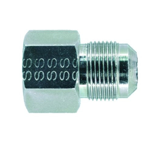 Dormont Gas Adapter Fitting 3/8-Inch Flare x 1/2-Inch Female, Metal, #90-1032R - Jenco Wholesale
