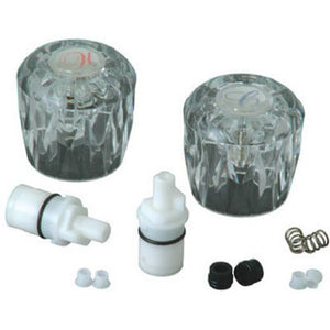 BrassCraft Acrylic Lavatory Remodel Repair Kit for Valley, 1 pair, #SK0397 - Jenco Wholesale