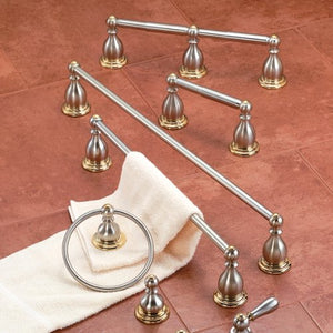 American Standard Chrome/Polished Brass Double Paper Holder 8040.232.228 - Jenco Wholesale