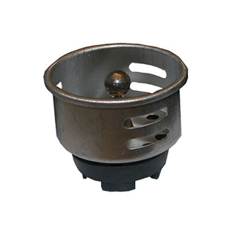 "Lasco Chrome Plated Sink Cup Strainer, Fits 2-1/2"", 03-1103 - Jenco Wholesale"