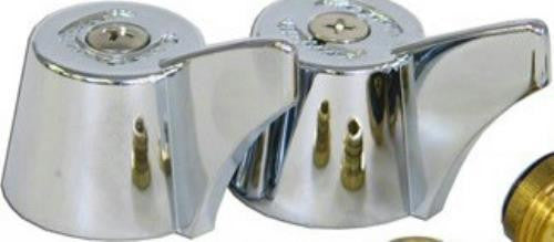 Master Plumber Chrome Metal Lavatory Handles for Union Brass, 819 436 - Jenco Wholesale