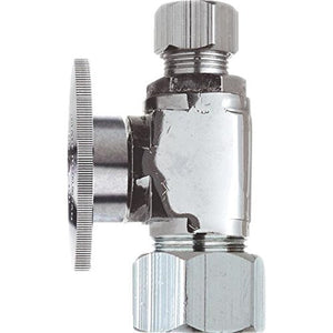 "Do it Quarter Turn Straight Valve, 456517, 5/8"" OD Inlet x 7/16"" OD or 1/2"" OD - Jenco Wholesale"