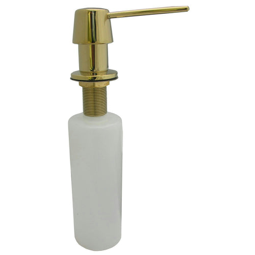 LG Polished Brass Kitchen Sink Soap/Lotion Dispenser #31420 - Jenco Wholesale