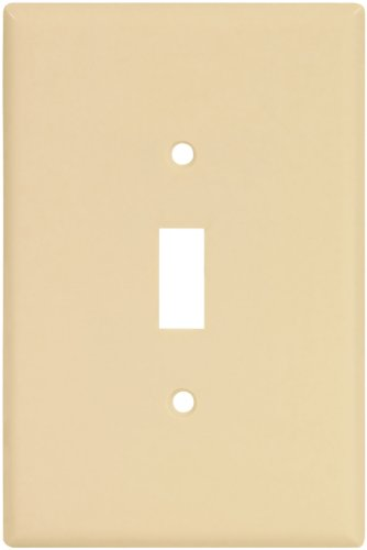 Single-Gang Wallplate in Ivory, 2144V-Box - Jenco Wholesale