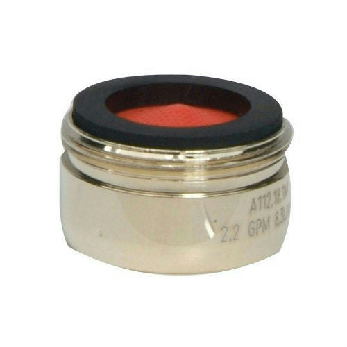 "Delta Polished Brass 15/16"" - 27 Male Thread Aerator, #SFD0231D"