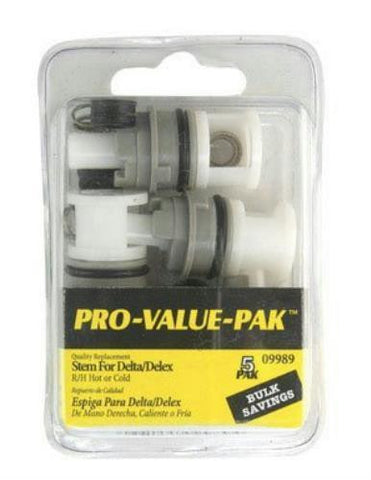 Danco Hot/Cold Stem for Delta Pro Pak, 3S-2H/C, 09989