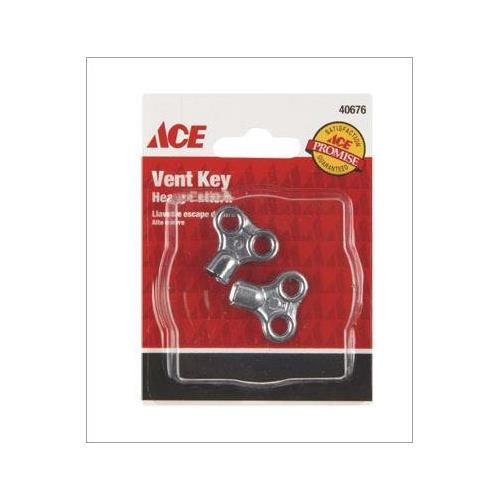 ACE Vent Key Chrome, 40676 - Jenco Wholesale