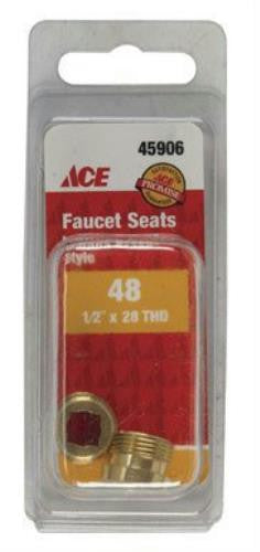 "Ace #48 Faucet Seats 1/2""-28 Thread for Sayco Faucets 45906 - Jenco Wholesale"