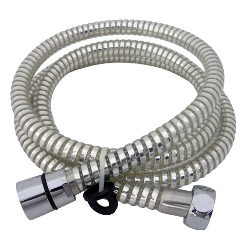 Lasco 84259CW 59-Inch Shower Hose, Chrome And White Finish - Jenco Wholesale