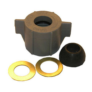 "Lasco Ballcock Nut with Cone Washer  5/8""x1/2"" Slip Joint Nut 03-1843 - Jenco Wholesale"