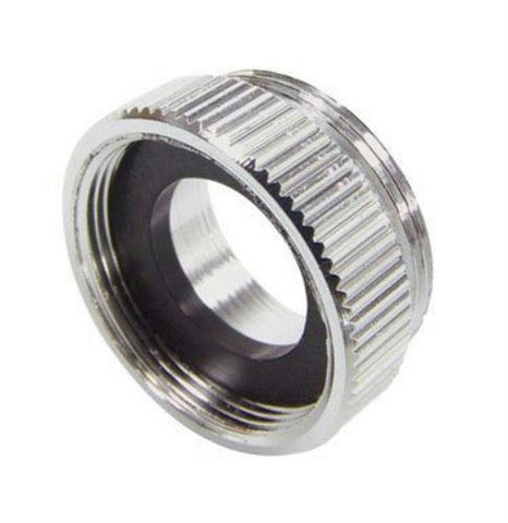 Danco Chrome Female Adapter for Chicago Faucet, 13/16-24T, 36125/10510