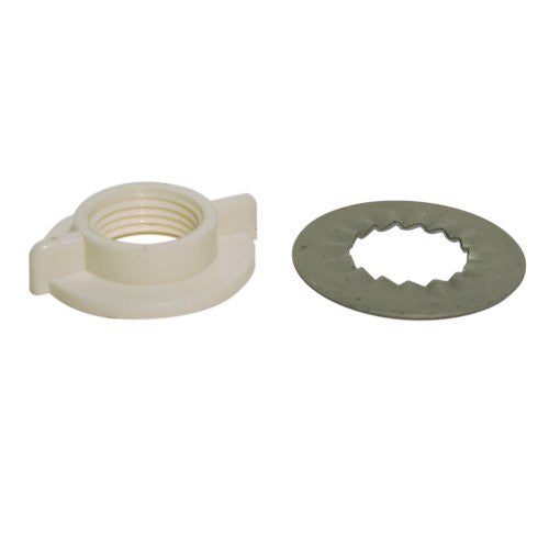 Danco White Rosette Faucet Washer and Nut, #88652 - Jenco Wholesale