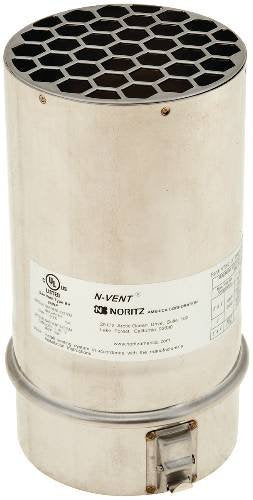 NORITZ VT5-S 503736 Straight Bird Screen Vent Termination, 5