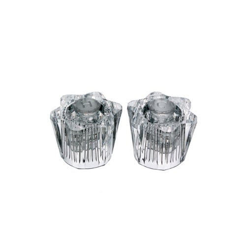 Danco 88168 Clear Acrylic Pair of Handles for Streamway Faucets - Jenco Wholesale