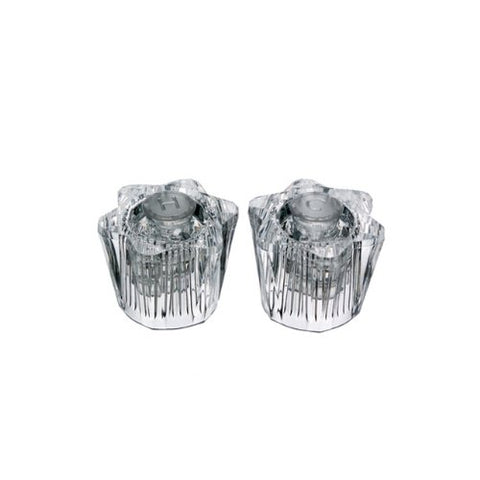 Danco 88168 Clear Acrylic Pair of Handles for Streamway Faucets