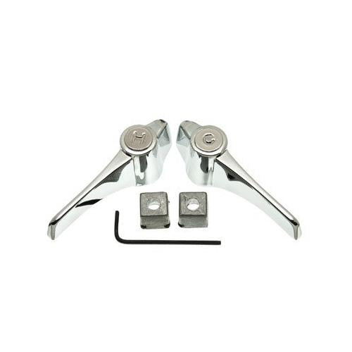 Ace Chrome Universal Lever Handles with Adapters, 46536 - Jenco Wholesale