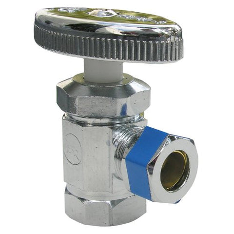 "Lasco Water Supply Valve 06-7201 3/8"" IPS x 3/8"" Comp Outlet"