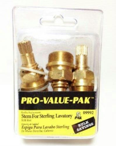 Danco 2L-4H Hot Stem for Sterling Lavatory Pro-Pak 5 2L-4H 09992 - Jenco Wholesale