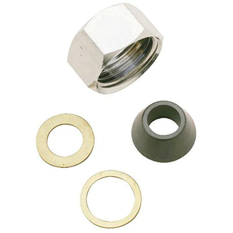 "Do it Slip-Joint Nut Set, 1/2"" Pipe Thread, x 3/8"" OD Comp, 411566 - Jenco Wholesale"