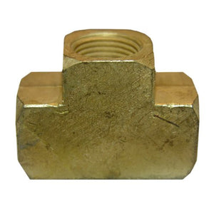 "Lasco 3/8"" Female Pipe Thread Brass Tee, 17-9107 - Jenco Wholesale"